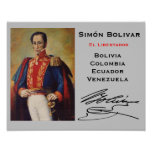 COLOMBIA- Simón Bolivar Wall Poster