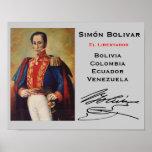 COLOMBIA- Simón Bolivar Wall Poster