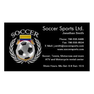 Colombia Soccer 2016 Fan Gear Business Card
