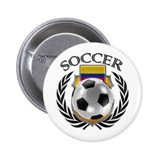 Colombia Soccer 2016 Fan Gear Button