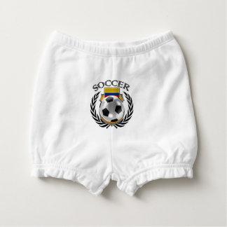 Colombia Soccer 2016 Fan Gear Diaper Cover