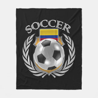 Colombia Soccer 2016 Fan Gear Fleece Blanket