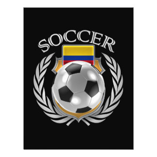 Colombia Soccer 2016 Fan Gear Flyer