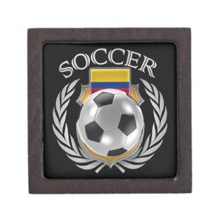 Colombia Soccer 2016 Fan Gear Jewelry Box