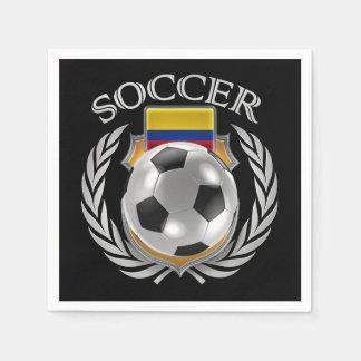 Colombia Soccer 2016 Fan Gear Paper Napkin