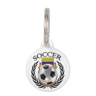 Colombia Soccer 2016 Fan Gear Pet ID Tag