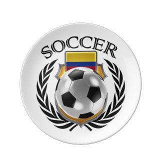 Colombia Soccer 2016 Fan Gear Porcelain Plate
