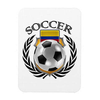 Colombia Soccer 2016 Fan Gear Rectangular Photo Magnet