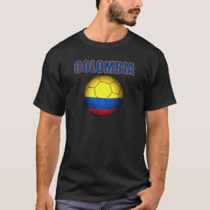 Colombia Soccer  2710 T-Shirt
