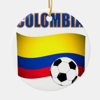 Colombia Soccer  5116 Ceramic Ornament
