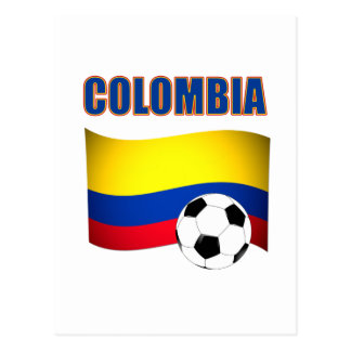 Colombia Soccer  5116 Postcard