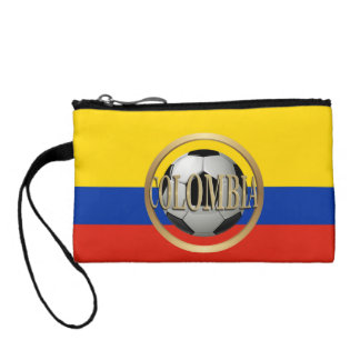 Colombia Soccer Ball Coin Purse
