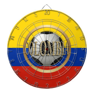 Colombia Soccer Ball Dartboards