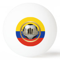 Colombia Soccer Ball Ping Pong Ball
