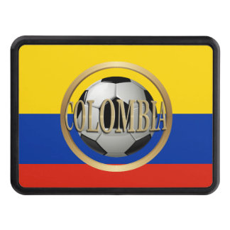 Colombia Soccer Ball Trailer Hitch Covers
