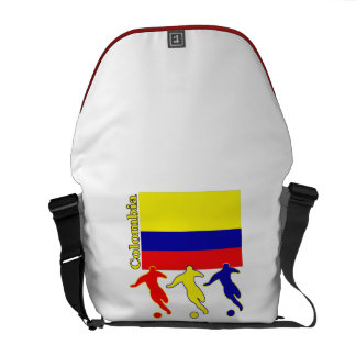 Colombia Soccer Players Messenger Bag