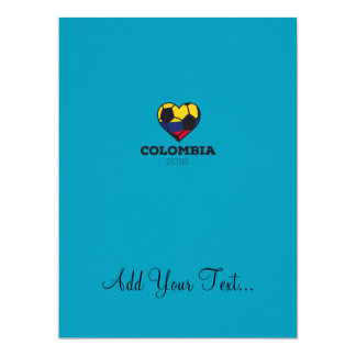 Colombia Soccer Shirt 2016 Card