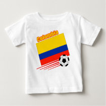 Colombia Soccer Team Baby T-Shirt
