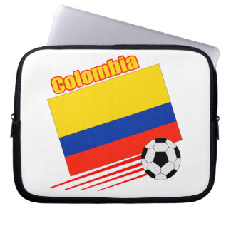 Colombia Soccer Team Laptop Sleeve