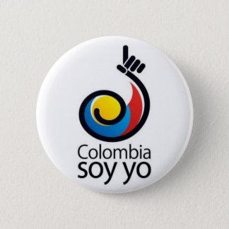 Colombia soy yo pinback button