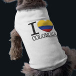 """Colombia Tee<br><div class=""""desc"""">I Love Colombia.</div>"""