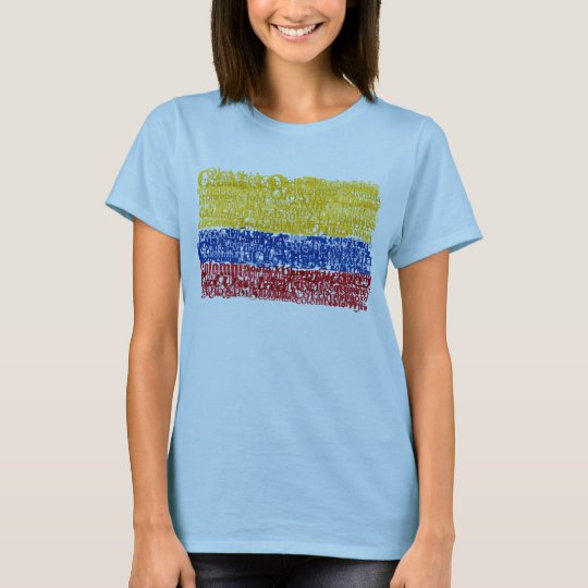 Colombia Textual T-Shirt