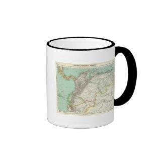 Colombia, Venezuela 2 Ringer Mug
