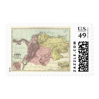 Colombia, Venezuela Postage Stamps
