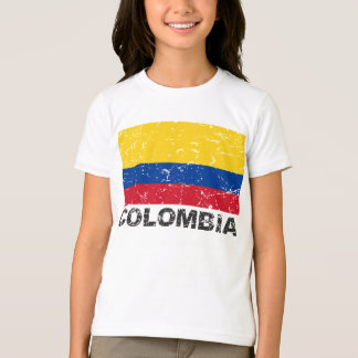 Colombia Vintage Flag T-Shirt