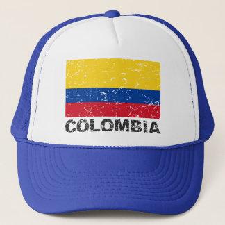 Colombia Vintage Flag Trucker Hat