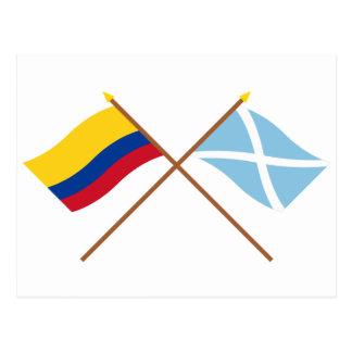 Colombia y San Andrés y Providencia cruzaron Postal