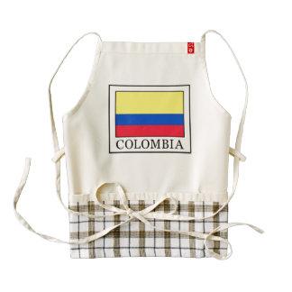 Colombia Zazzle HEART Apron