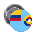 Colombian Air Force, Colombia flag Buttons