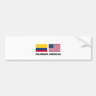 Colombian American Bumper Sticker