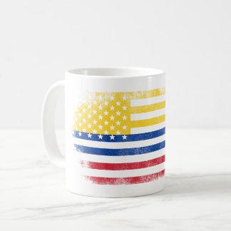 Colombian American Flag   Colombia and USA Design Coffee Mug