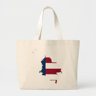 Colombian American Large Tote Bag