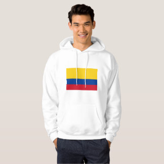 colombian and proud mens basic hooded sweatshirt