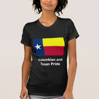 Colombian and Texan Pride Tshirts