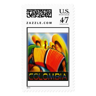Colombian Banda Stamp