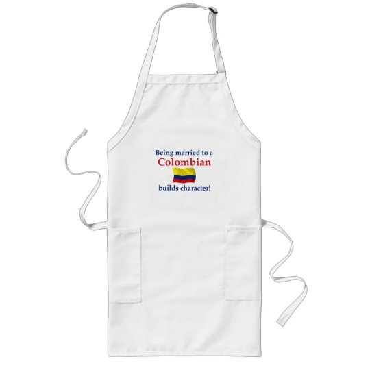 Colombian Builds Character Long Apron