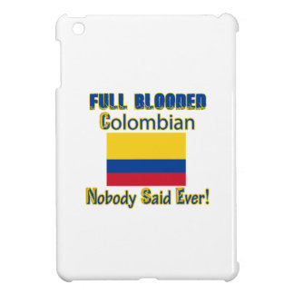 Colombian citizen design iPad mini cases