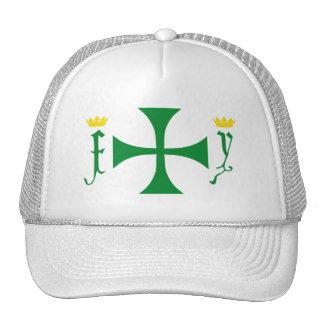 Colombian Cross Cap Trucker Hat