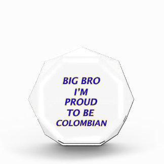 colombian design acrylic award