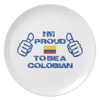 COLOMBIAN DESIGN DINNER PLATE