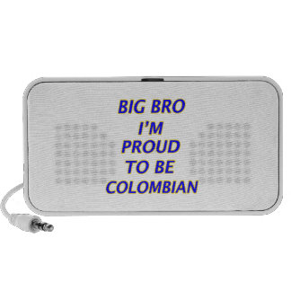colombian design mini speaker