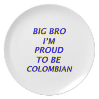 colombian design plate