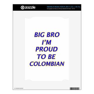 colombian design skins for NOOK