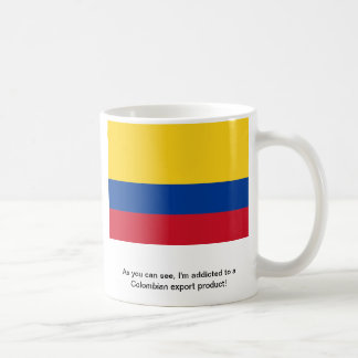 Colombian export coffee mug