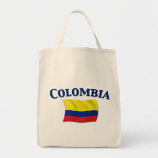 Colombian Flag 1 Tote Bag