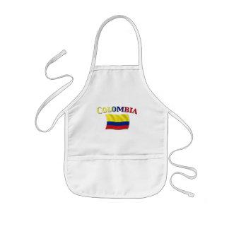 Colombian Flag 2 Kids' Apron